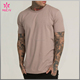 High Quality 95%Cotton 5%Spandex Crow Neck Loose Fitness T Shirt Men