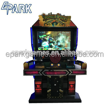2018 most popular Coin Operated electronic arcade game shooting game machine