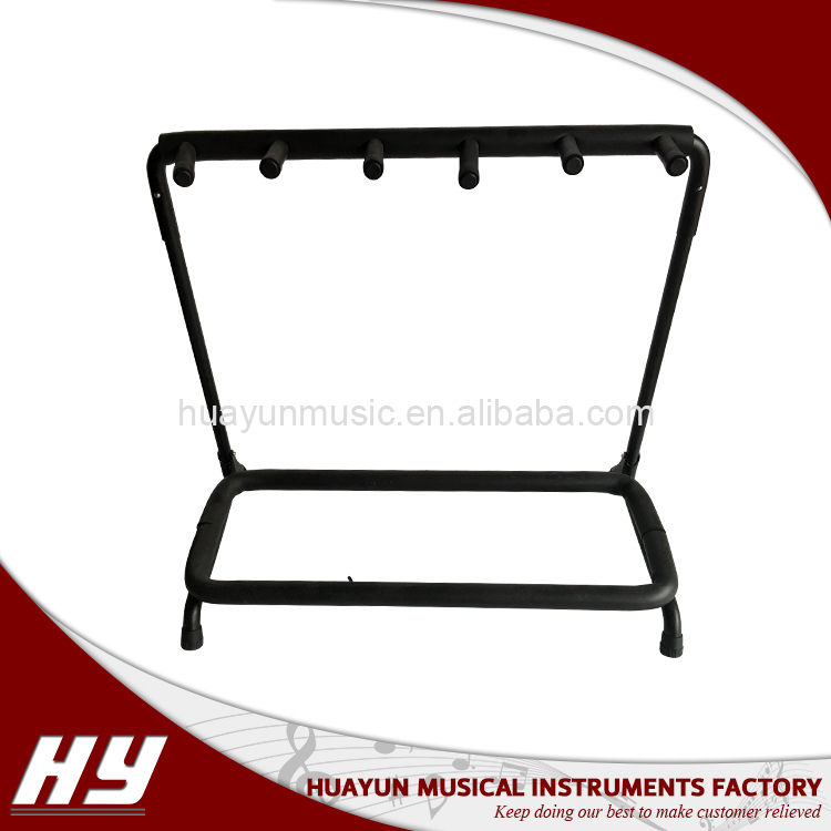 Universal acoustic electric bass guitar display stand