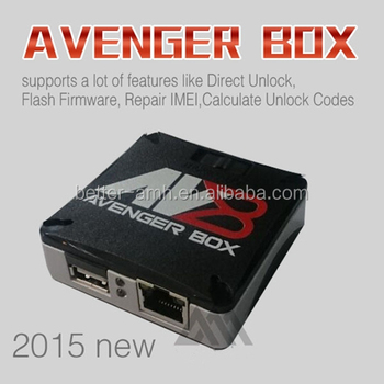 100% Original Latest Avengers Box For Alcatel For Blackberry For Zte China  Phone Repair Software - Buy Avengers Box,Avenger Box,Avenger Unlock Box