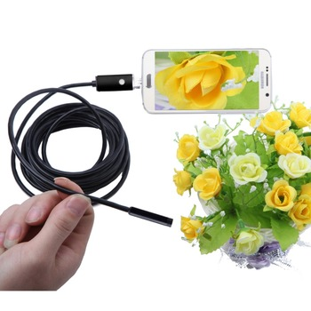 2 in 1 USB Snake Pipe Endoscope Inspection Camera