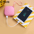 New 2018 Mini Pocket Wallet With Power Bank Keychain Smart Cute Power Bank