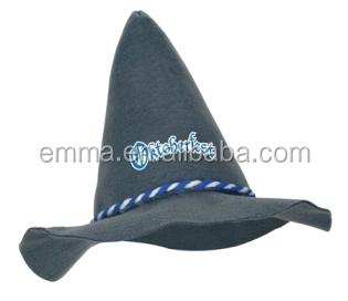 feltro grigio oktoberfest cappello festa della birra cappello bavarese  tirolese bianca e blu corda docoration ht2924 ea6b6e929c77