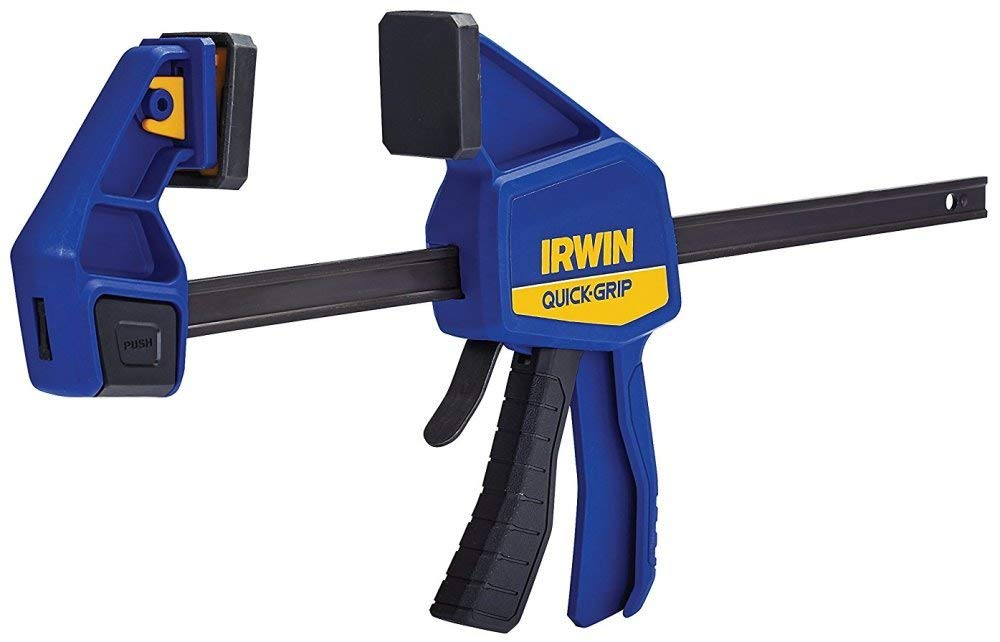 """Irwin Quick Grip 512QCN 12"""" One Handed Bar Clamp/Spreader"""