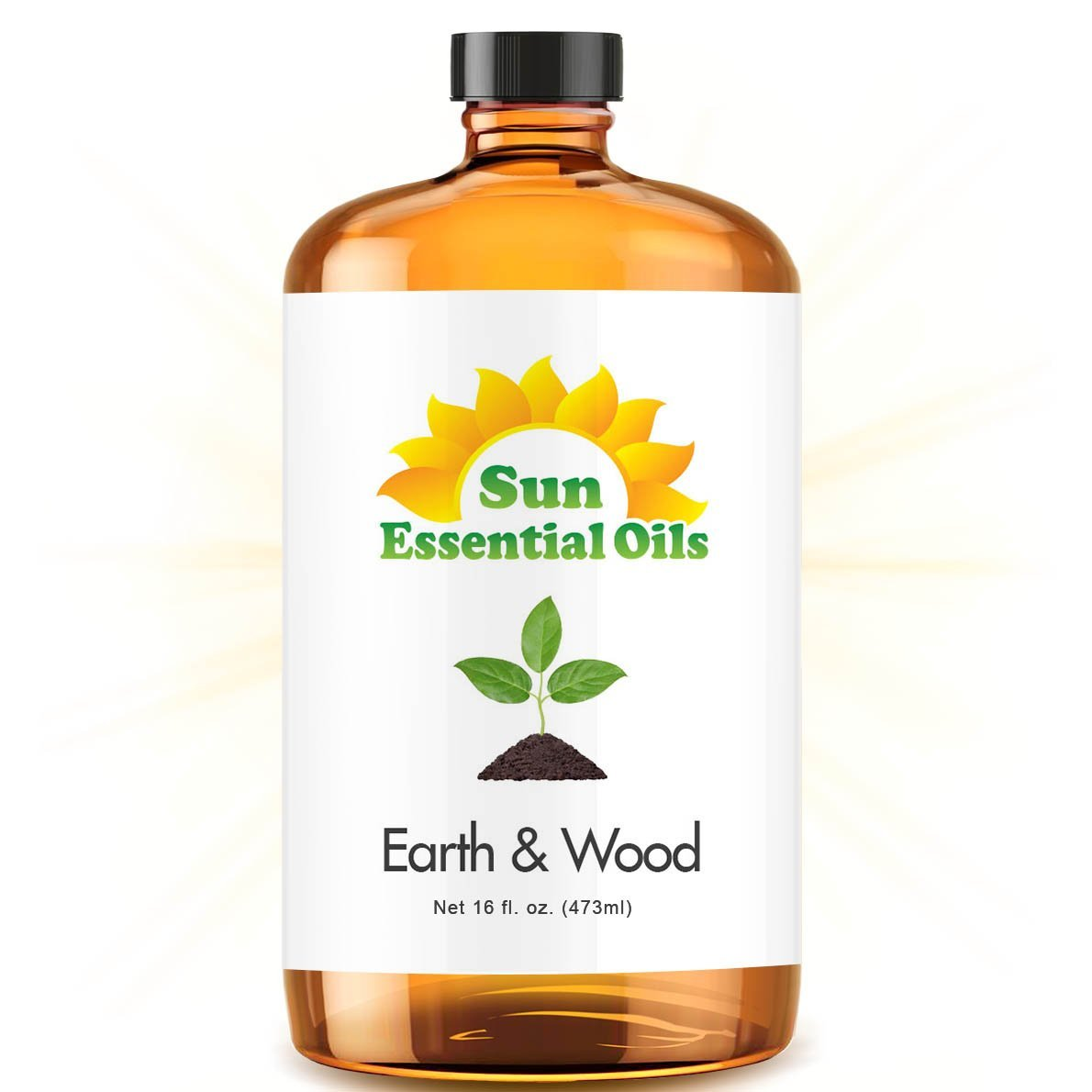 Earth & Wood Blend - Mega 16oz Best Essential Oil (Compare to Edens Garden Earth & Wood) Earth & Wood Blend (Compare to Edens Garden Earth & Wood) - (Large 4 ounce) Best Essential Oil (Cardamom, Cedarleaf, Cedarwood, Fir Needle, Patchouli and Sandalwood)