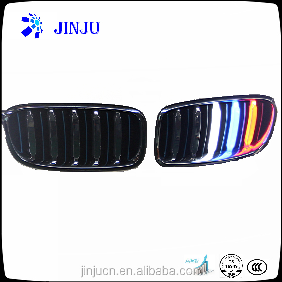 Automobiles body Parts for BMW 3 Class front grill LED light smart grill