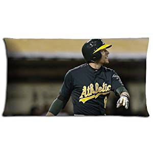 Oakland Athletics Polyester * Cotton Elegant Home Pillow Cover Cases Conveniently 20x36(inch) 50x90(cm)