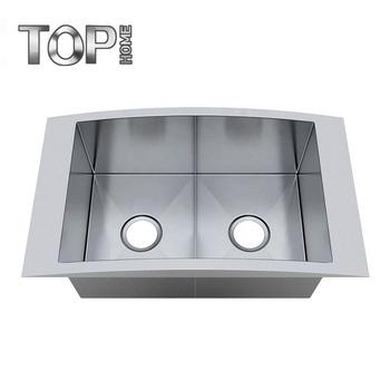 16 Gauge Stainless Steel Top Mount Double Bowl Modern Kitchen Sink - Buy  Topmoount Sink Product on Alibaba.com