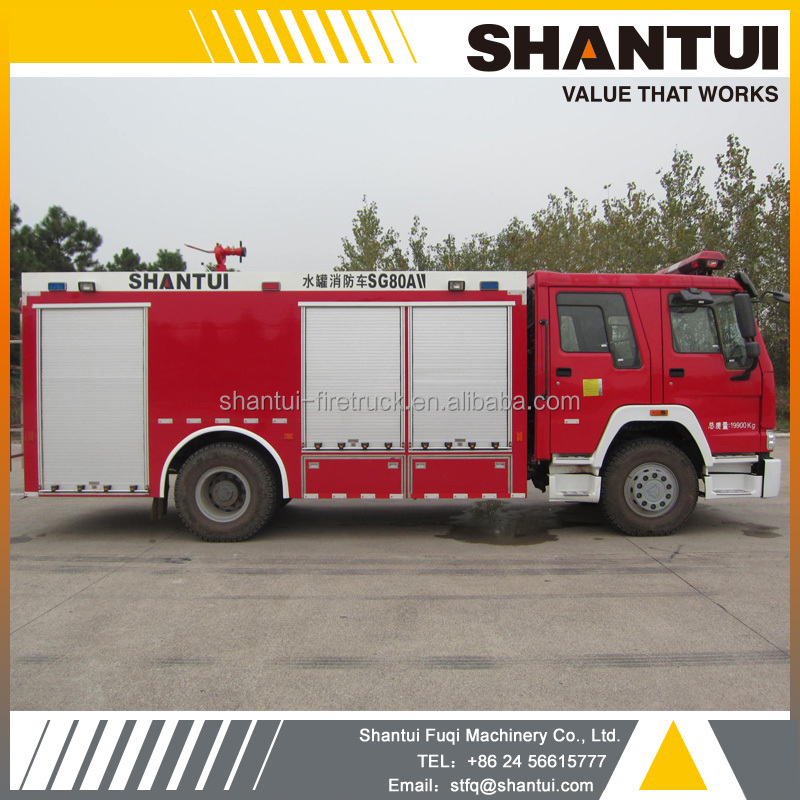 Water tender, 12 t Fire fighting truck SG120A