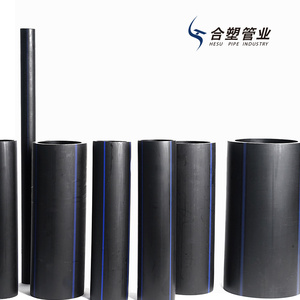 China Manufacturer 450mm HDPE Black Pipe for Water Supply