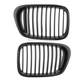 62b58419079 Car Accessories For Bmw E39 M5 Style Black Front Grille - Buy Abs ...