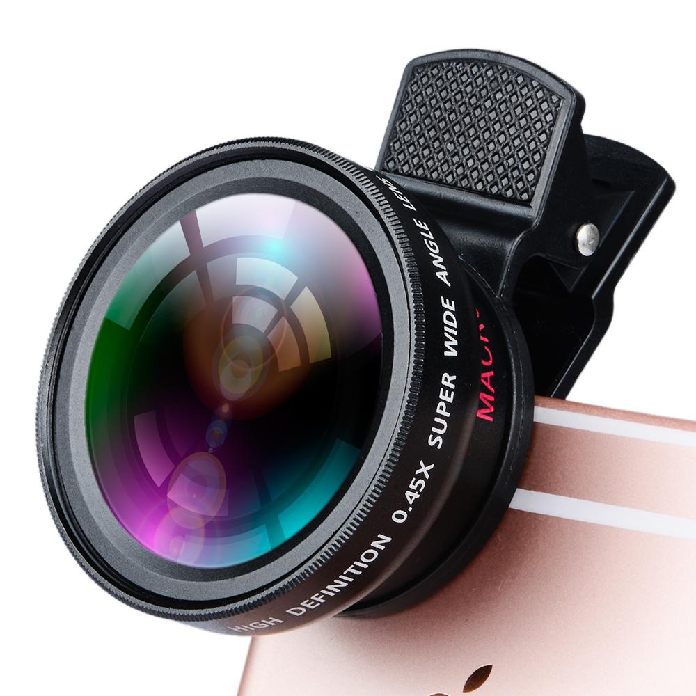 online store ebb6a fe603 Apexel Universal Lenses For Iphone 6 6s,Clip Mobile Camera Lens Pro 0.45x  Super Wide Angle Lens+12.5x Super Macro Lens Kit - Buy Mobile Camera Lens  ...