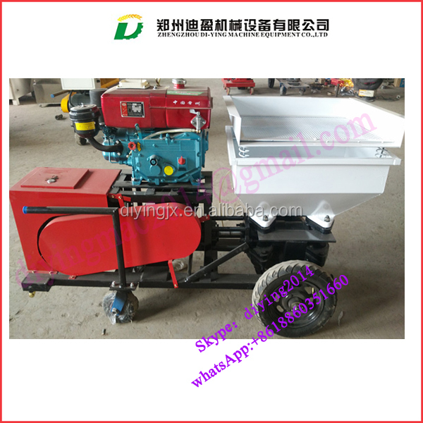 Diesel wall cement mortar spraying plaster machine/ cement plastering machinery/ wall sand cement mortar