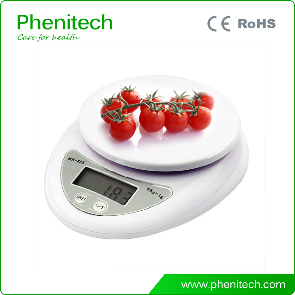 LCD Digital Kitchen Weighing Scales Postal Parcel Food Weight Diet 5Kg