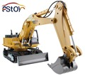 RC Excavator Alloy 2 4G 11CH Remote Control Engineering Truck Digger Truck Model Electronic Excavator Heavy