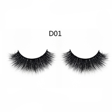 Private label wholesale custom made 3D false eyelash with 100% real mink fur