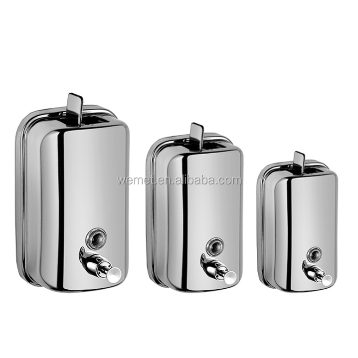 Stainless Steel Soap Dispenser / Wall Mount Liquid Soap Dispenser