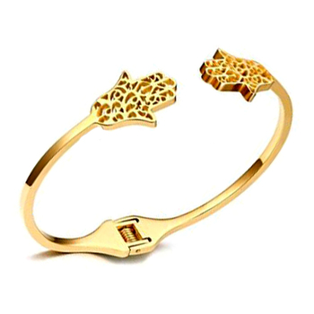 2017 Fancy Design Daily Wear Metal Hand Charm S Bracelet Womens 18k Gold View Right Grand Jewelry Product Details