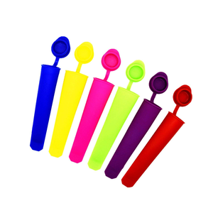 5 Color blast Ice Pop Popsicle Maker Silicone Freezer Ice Cream Maker Mold Form