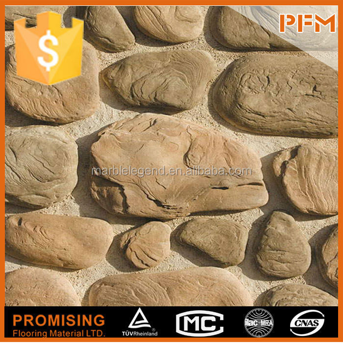 Building facade stone design honed split fake stone splitting wedge