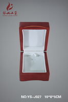 Jewelry box wooden gift packing