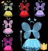 new products 2016 butterfly fairy wing girls party dress costume party supplies