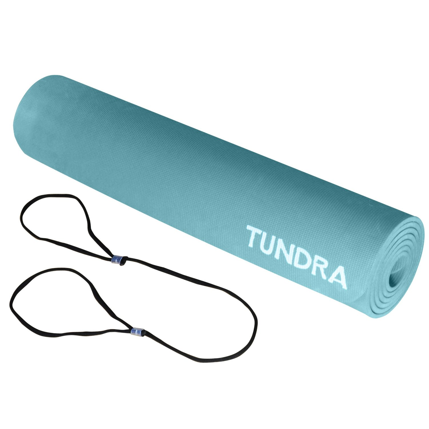 Tundra EZ Yoga Mat, Extra Long And Thick, Carrying Strap, Non-Slip, Eco Friendly, Lightweight, Great For Pilates And Floor Exercise.