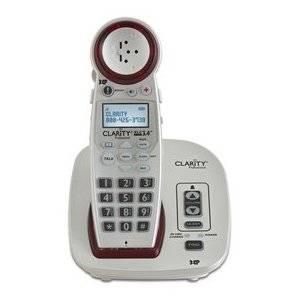 "Clarity Professional Xlc3.4 Dect Cordless Phone . Cordless . 1 X Phone Line . Speakerphone . Caller Id ""Product Type: Phones/Analog & Digital Phones"""