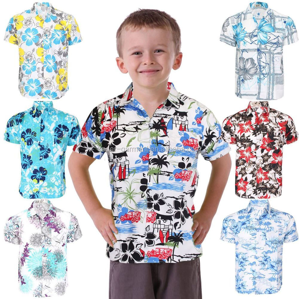 Hawaiian Clothes For Kids