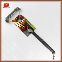 3 Sided Grill Cleaning Brush Wire Grill Brush Cleaner Scraper Tool