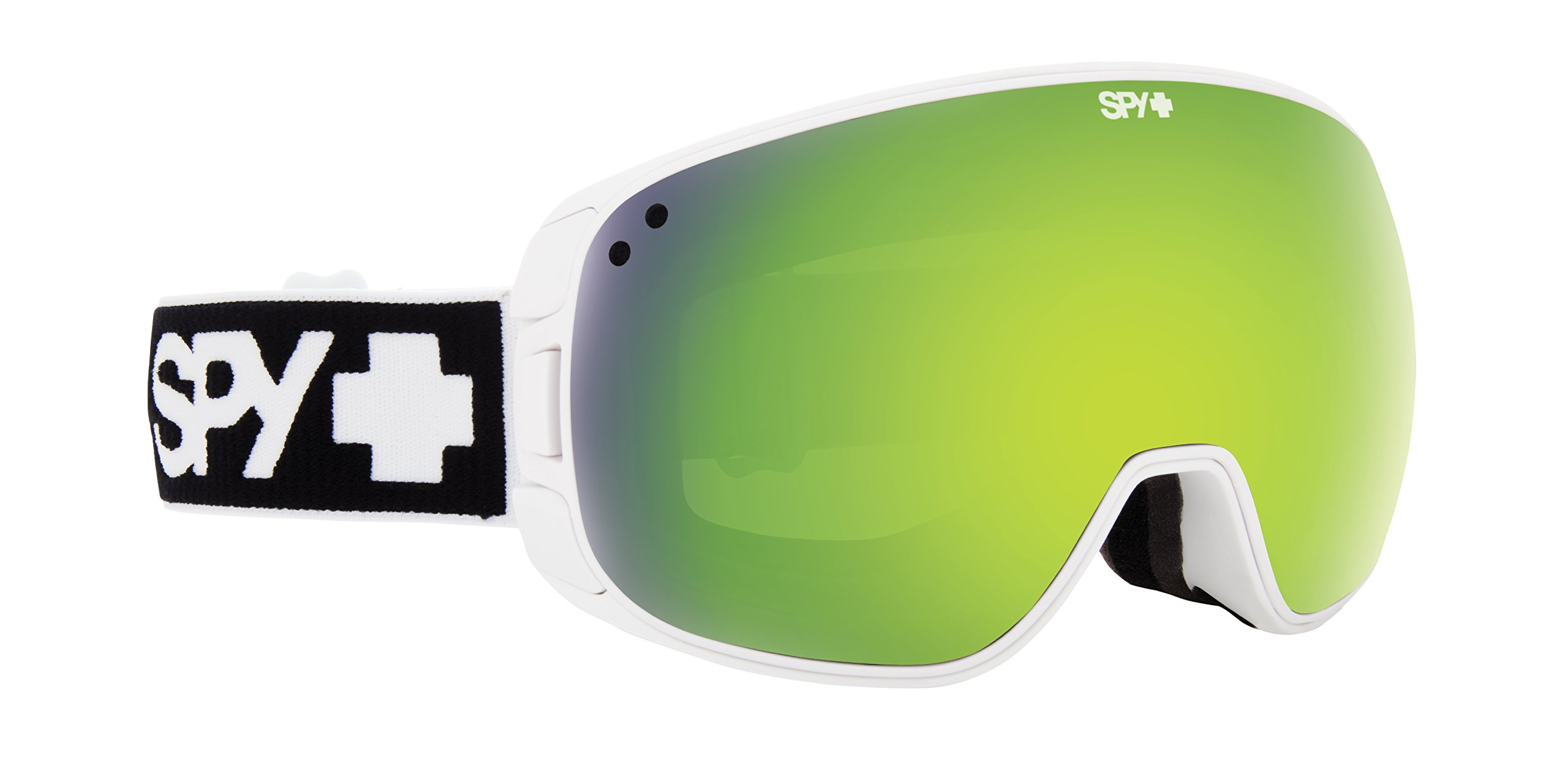 SPY Optic Bravo Snow Goggles | Medium-Sized Ski, Snowboard or Snowmobile Goggle | Some Styles with Patented Happy Lens Tech