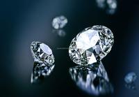 1.5 Carat Round Gia Certified E Color VS1 Clarity Diamond 3 Stone Diamonds Ring Unique Wedding Bands Loose Prices
