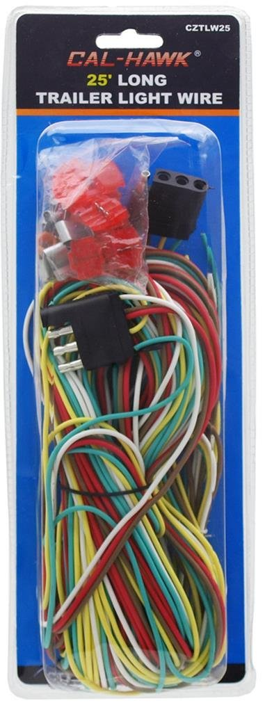 25' 4 Way Trailer Wiring Connection Kit
