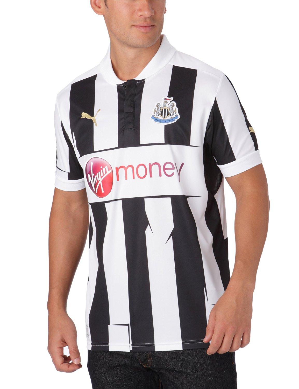 2012-13 Newcastle Home Puma Football Shirt