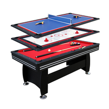 Modern Multi folding Function Game Combo Table with all accessories