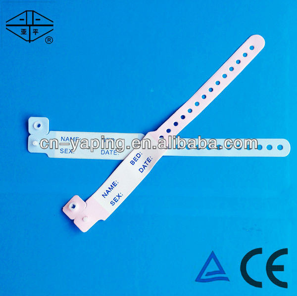 Very Safe Baby Medical Id Bracelet With Iso Tests