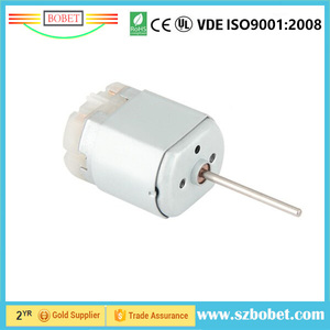 low noise high torque dc motor 280 electric toy motor gear