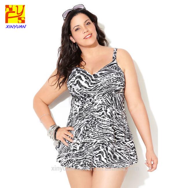 Casual Womens Plus Size Allover Printed Swim Dress Plus Size Dress - Buy  Plus Size Dress,Allover Printed Swim Dress,Womens Plus Size Swimming Dress  ...