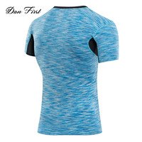 Latest new design fashion mens casual tshirt/t shirt for men