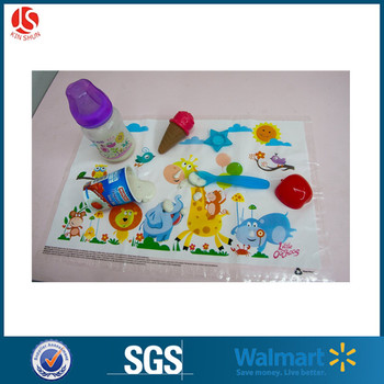 Good Disposable Plastic Kids Placemats Table Mat For Children Place Mat For Baby