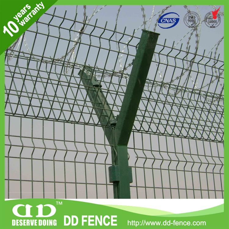 ISO9001 zertifiziert sicherheitsnetz/flughafen fechten eisen weld ...