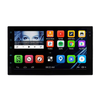 High Quality 2 Din 7'' Touch Screen Universal Android 7.0 Navigation Bluetooth Offer OEM Service Digital Car MP5 Vdeio Player