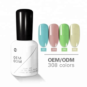 Soak off uv gel nails nail salon gel polish customized color uv gel