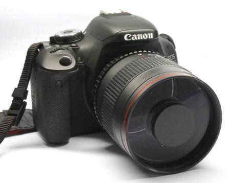 500mm F6.3 Reflex Mirror Lens For Olympus DSLR Camera фото