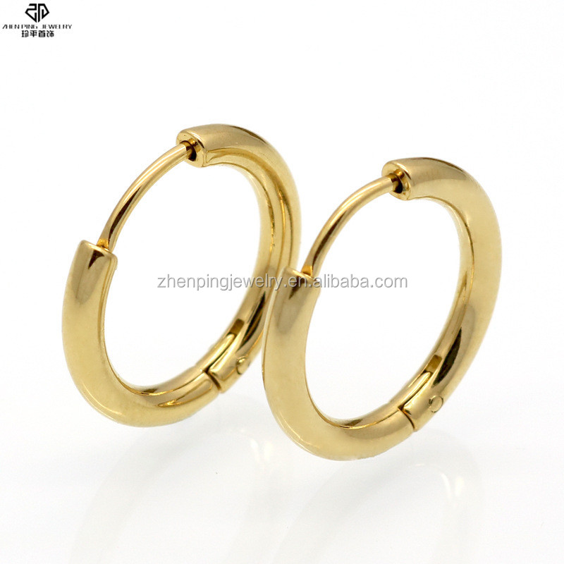 Wholesales stainless steel new designs gold fashion earring for ladies earring set