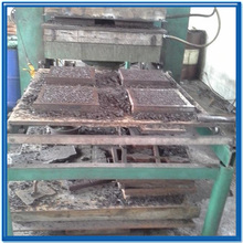 Tile making machine rubber vulcanizing oven