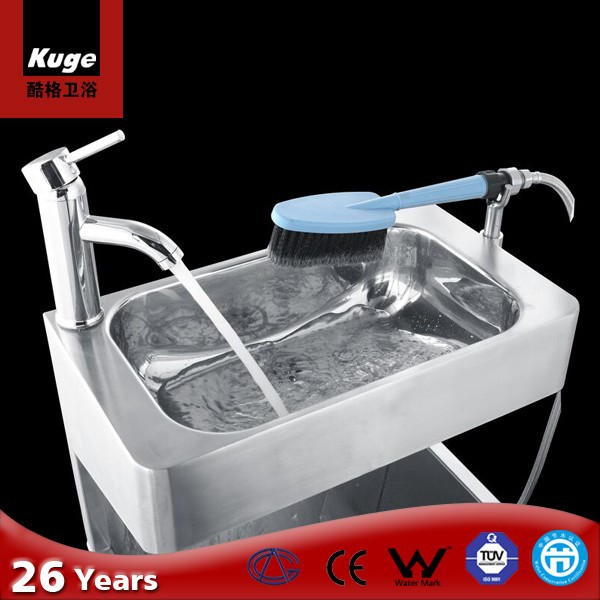 prosin use Stainless Steel foot Wash sink