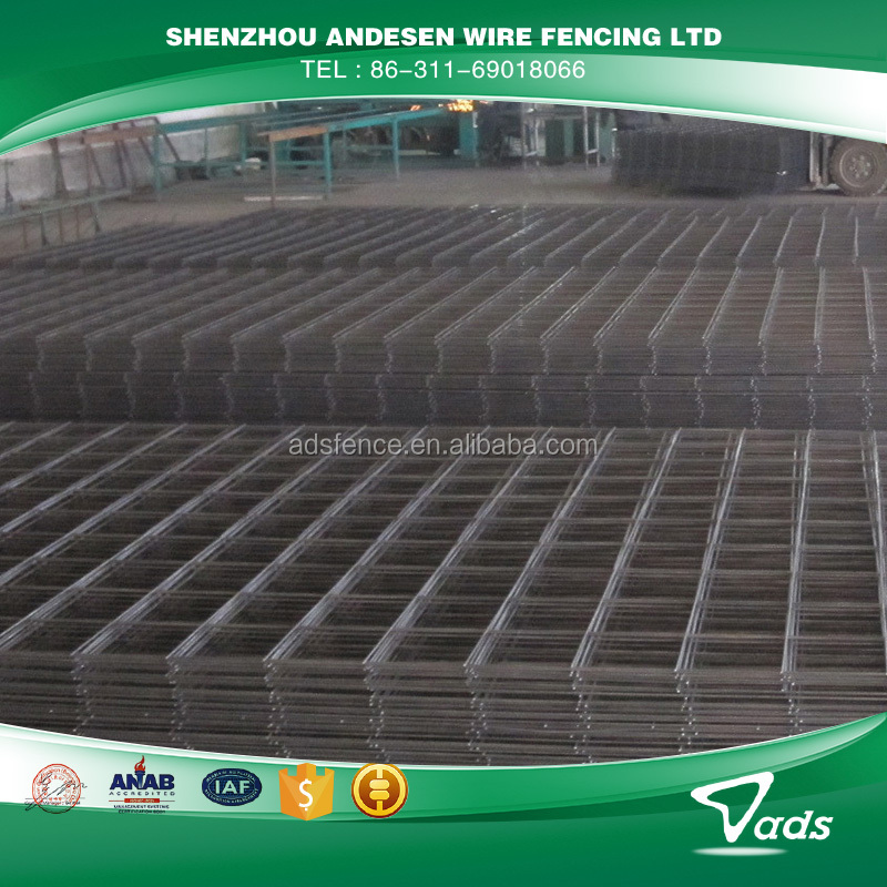 Wire Mesh Fence Panels 3x3 galvanized welded wire mesh panel, 3x3 galvanized welded wire