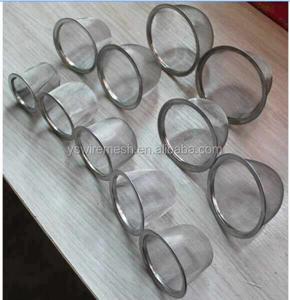 Various size of stainless steel filter strainer