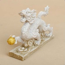 sandstone Chinese zodiac dragon statue resin crafts 13052